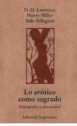 Libro Lo Erotico Como Sagrado