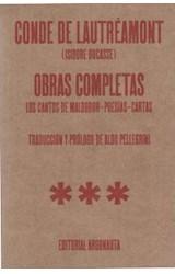 Papel OBRAS COMPLETAS (LOS CANTOS DE MALDOROR-POESIAS-CARTAS)