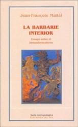 Libro La Barbarie Interior