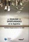 Libro La Igualdad De Oportunidades En La Argentina