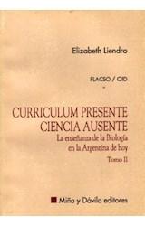 Papel CURRICULUM PRESENTE-II-CIENCIA AUSENTE-