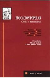Papel EDUCACION POPULAR-CRISIS Y PERSPECTIVAS
