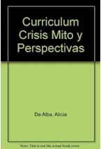 Papel CURRICULUM:CRISIS, MITO Y PERSPECTIVAS