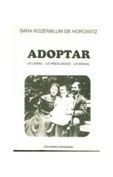 Papel ADOPTAR - LO LEGAL - LO PSICOLOGICO - LO SOCIAL