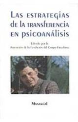 Papel ESTRATEGIAS DE LA TRANSFERENCIA EN PSICOANALISIS