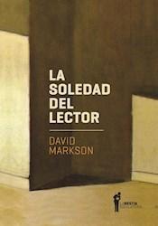 Libro La Soledad Del Lector