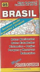 Papel Nº5 Mapa De Rutas Brasil