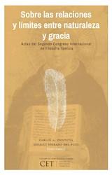 E-book Sobre las relaciones y límites entre naturaleza y gracia