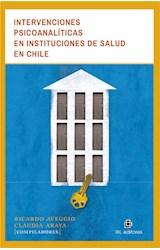 E-book Intervenciones psicoanalíticas en instituciones de salud en Chile