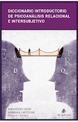 E-book Diccionario introductorio de psicoanálisis relacional e intersubjetivo