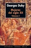Papel MUJERES DEL SIGLO XII TOMO 1