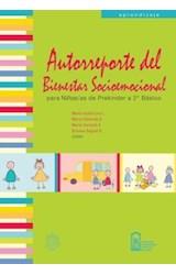 E-book Autorreporte del bienestar socioemocional para niños de prekinder a 2º básico