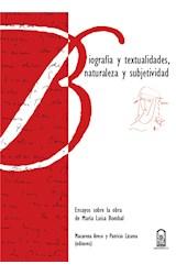 E-book Biografía y textualidades, naturaleza y subjetividad