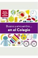 Papel BUSCA Y ENCUENTRA EN EL COLEGIO (CARTONE)