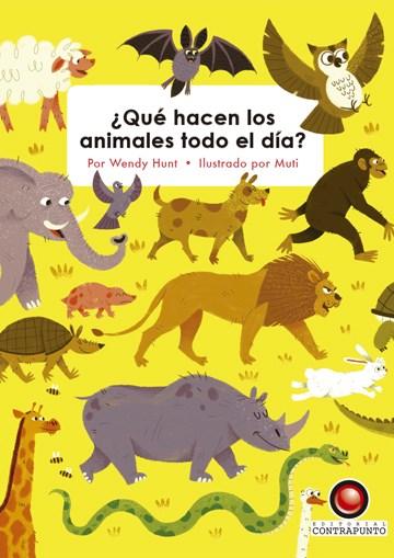 Papel ¿ Qué Hacen Los Animales Todo El Día ?