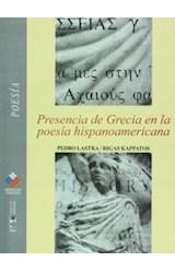 Papel PRESENCIA DE GRECIA EN LA POESIA HISPANOAMERICANA