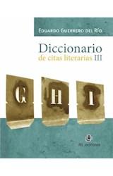 E-book Diccionario de citas literarias III