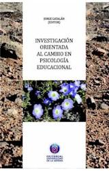 E-book Investigación orientada al cambio en Psicología Educacional