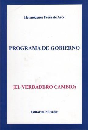 E-book Programa De Gobierno