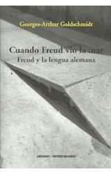Papel CUANDO FREUD VIO LA MAR