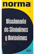 Papel DICCIONARIO NORMA DE SINONIMOS Y ANTONIMOS