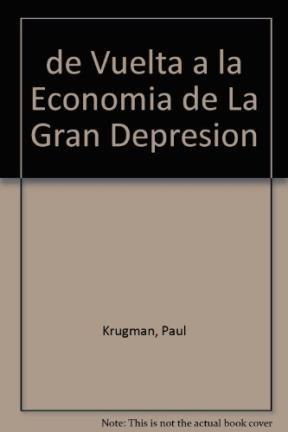 Papel De Vuelta A La Economia De La Gran Depresion
