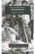 Papel INTERCULTURALIDAD Y COMUNICACION (ENCICLOPEDIA LATINOAMERICANA DE SOCIOCULTURA Y COMUNICACION)