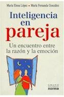 Papel INTELIGENCIA EN PAREJA UN ENCUENTRO ENTRE LA RAZON Y LA EMOCION (RUSTICA)