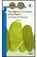 Papel NOS IMPORTA UN COMINO EL REY PEPINO (9 AÑOS) (TORRE DE PAPEL AZUL)