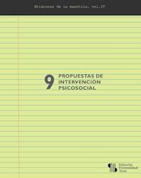 Libro 9 Propuestas De Intervencion Psicosocial