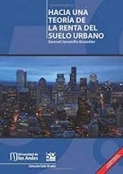 Libro Hacia Una Teoria De La Renta Del Suelo Urbano