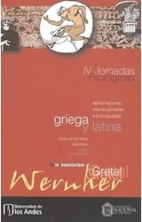 Papel JORNADAS FILOLOGICAS IV GRIEGA Y LATINA