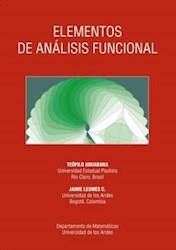 Libro Elementos De Analisis Funcional