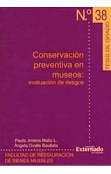 Papel CONSERVACION PREVENTIVA EN MUSEOS N§ 38