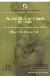 Papel PSICOANALISTAS EN EL FRENTE DE BATALLA (LAS NEUROSIS DE GUER