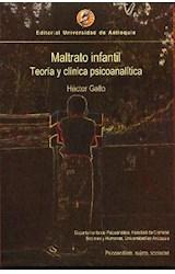 Papel MALTRATO INFANTIL (TEORIA Y CLINICA PSICOANALITICA)