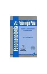 Papel FENOMENOLOGIA Y PSICOLOGIA PURA