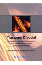 Papel TRASTORNO DISOCIAL (EVALUACION TRATAMIENTO Y PREVENCION
