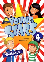 Libro Young Stars 4 ( Brit.) Workbook + Cd