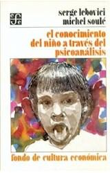 Papel CONOCIMIENTO DEL NIÑO A TRAVES DEL PSICOANALISIS