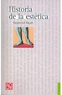 Papel HISTORIA DE LA ESTETICA (COLECCION FILOSOFIA)