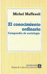 Papel CONOCIMIENTO ORDINARIO COMPENDIO DE SOCIOLOGIA (SOCIOLOGIA)