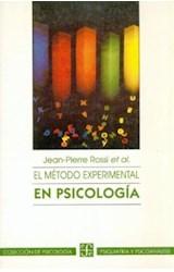 Papel EL METODO EXPERIMENTAL EN PSICOLOGIA