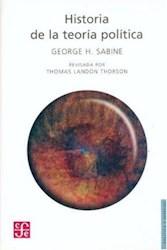 Libro Historia De La Teoria Politica