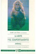 Papel MENTE Y EL COMPORTAMIENTO ANIMAL: LA