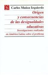 Papel ORIGEN Y CONSECUENCIAS DE LAS DESIGUALDADES EDUCATIVAS