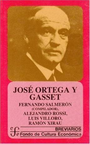 Papel Jose Ortega Y Gasset