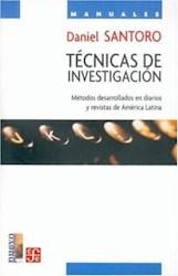 Papel Tecnicas De Investigacion