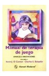 Papel MANUAL DE TERAPIA DE JUEGO-AVANCES E INNOVACIONES