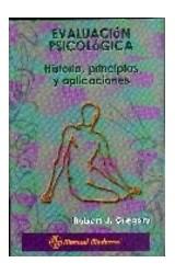 Test EVALUACION PSICOLOGICA HISTORIA, PRINCIPIOS Y APLICACIONES